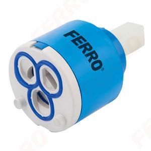 Cartus ceramic scurt 40 mm pentru baterii monocomanda