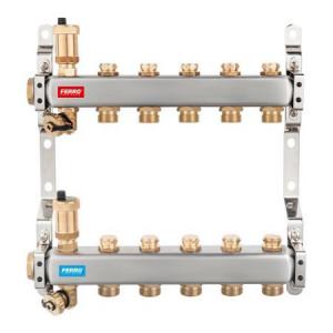 DISTRIB/COLECTOR 1`` INOX INC.RAD. 5 CAI FARA EUROCON