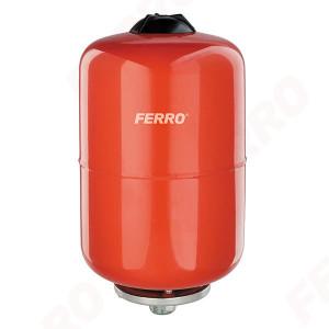 Vas de expansiune Ferro, 8L pentru apa calda, incalzire centrala cu montaj suspendat