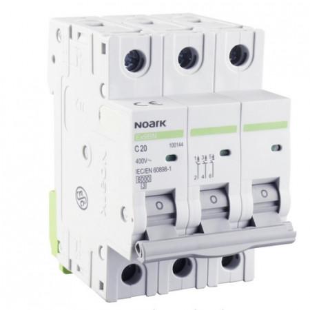 Automatski osigurač 6 kA, Ex9BN 3P C20 Noark