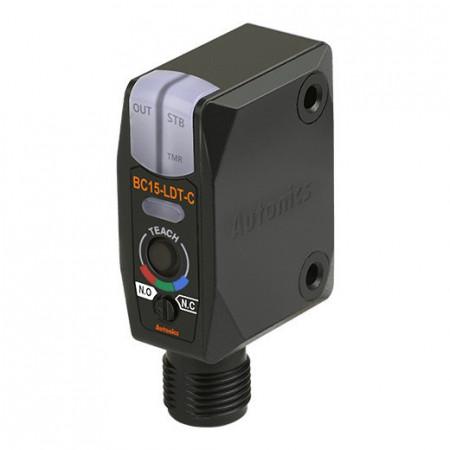 Color marker BC15-LDT-C,NPN NO/NC, Sn=15mm,convergent-reflective,konektor M12,12-24Vdc,IP67 Autonics
