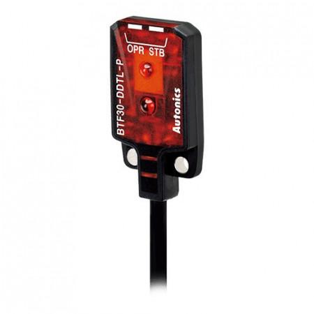 Foto-senzor BTF30-DDTL-P,PNP NO,Sn=5-30mm,diffuse-reflective,kabal l=2m,12-24Vdc,IP67 Autonics