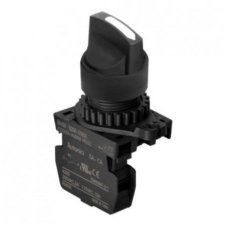 Prekidač dvopoložajni S2SR-S3WAM 0-1 45° IP52 Autonics
