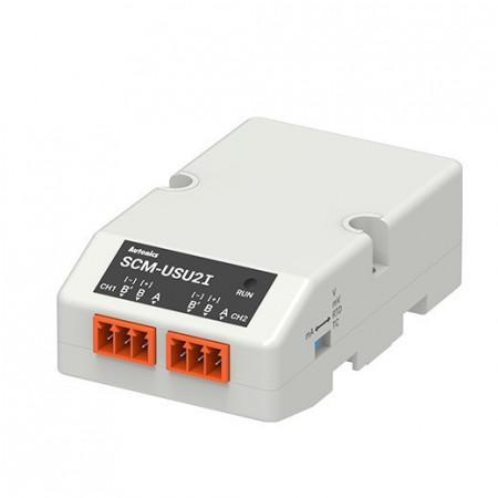 Komunikacioni konvertor SCM-USU2I, 2-kanalni, Modbus RTU, USB 2.0, USB napajanje 5Vdc IP20 Autonics