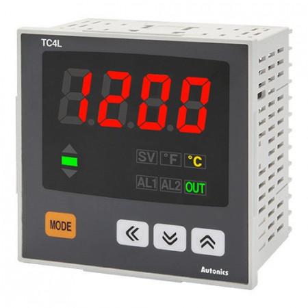 Termoregulator TC4L-14R, disp.LED,1 red,4 cifre,relejni ili SSR,alarm,PID,100-240Vac IP65 Autonics