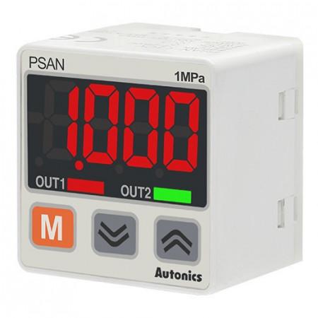 Transmiter pritiska PSAN-1CPA-RC1/8, 0-10 bar, 4-20mA, PNP, 12-24Vdc, IP40 Autonics