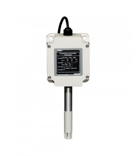 Vlagometar THD-W2-C,-19.9~60.0 °C,0.0~99.9%RH, izlaz 4-20mA, 12-24Vdc, IP65 Autonics