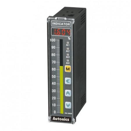 Digitalni indikator sa bargrafom KN-1210B,2 alarma,izlaz 4-20mA,RS485,W36XH144mm,100-240Vac Autonics