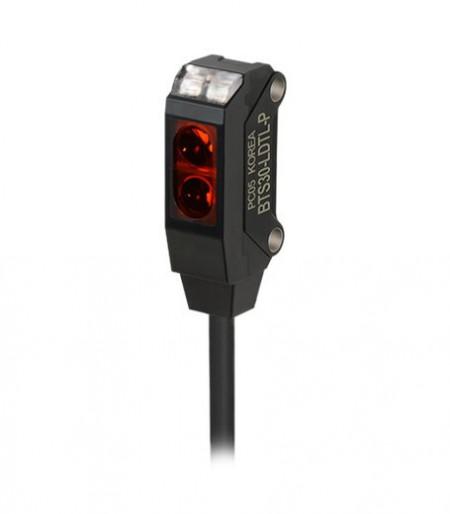 Foto-senzor BTS30-LDTL-P,PNP NO,Sn=5-30mm,convergent-reflective,kabal l=2m,12-24Vdc,IP67 Autonics