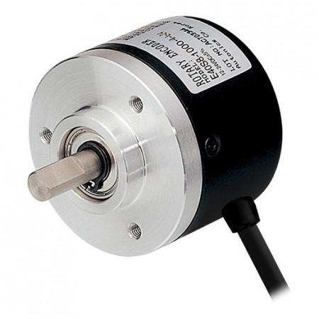 Inkrementalni enkoder E40S6-1000-6-L-5, fi40mm, 1000P/R,line drive,AABBZZ, l=2m,5Vdc, IP50 Autonics