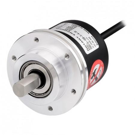 Inkrementalni enkoder E58SC10-5000-3-T-24, fi58mm,5000P/R,totem pole,ABZ,l=2m,12-2Vdc, IP50 Autonics