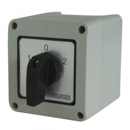 Kontrolna kutija za grebenaste prekidače PSK12E, 10-25A tropolni IP65 Emas