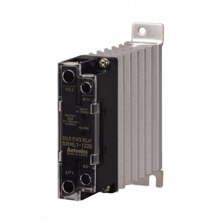 Solid State Relay SRHL1-1220,integ.hladnjak,alarm,1-fazni,ulaz 10-30Vdc,izlaz 24-240Vac,20A Autonics