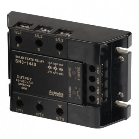 Solid State Relay SR3-1440, 3-fazni, ulaz 4-30Vdc,izlaz 48-480Vac, 40A Autonics