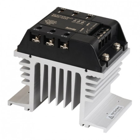 Solid State Relay SRH3-4430,integrisani hladnjak,3-fazni,ulaz 90-240Vac,izlaz 48-480Vac,30A Autonics