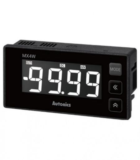 Panelmetar MX4W-V-FN,LCD 12 seg-4 d,96x48mm,merenje(DC/AC napon,frekv.),24-240Vdc/Vac Autonics