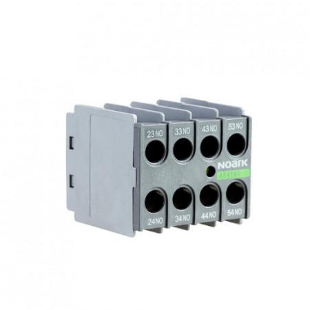 Pomoćni kontakt AX4122, 2NO+2NC, čeoni, za minijaturne Ex9CS kontaktore Noark