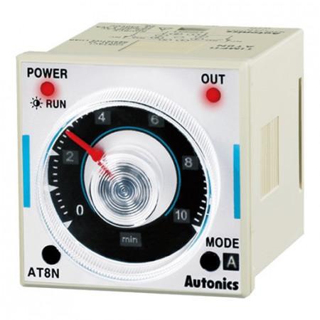 Tajmer AT8N, disp. analogni,skala,8 pin,6 mode,100-240Vac 50/60Hz,12-24 Vdc Autonics