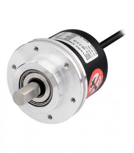 Inkrementalni enkoder E58SC10-100-3-T-24, fi58mm,100P/R,totem pole,ABZ, l=2m,12-24Vdc, IP50 Autonics