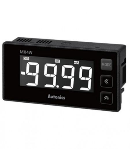 Panelmetar MX4W-A-FN,12 seg.4 dig.LCD disp.,merenje(DC/AC struja,frekvencija),24-240Vdc/Vac Autonics