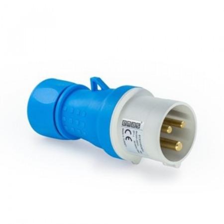 Utikač industrijski prenosni ECE316V4FU,16A, 2P+N Emas
