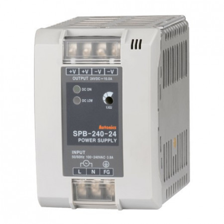 Napajanje SPB-240-24 24V/240W, 10A, LED indikacija, 100-240Vac 50/60Hz, IP20 Autonics