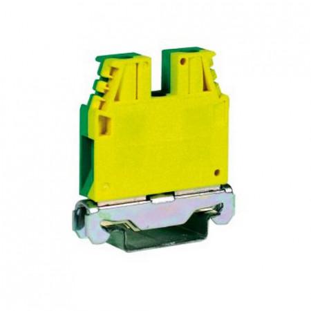 Redna stezaljka uzemljena, TO120, 0.2-10 mm2, tip TEC.6/O Cabur