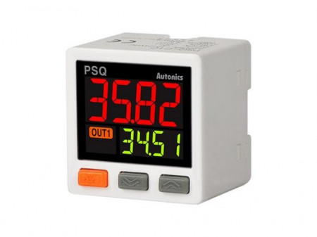 Senzor pritiska PSQ-C1CU-RC1/8,digitalni,1000kPa,izlaz(5Vdc,4-20mA),PNP/NPN,12-24Vdc,IP40 Autonics