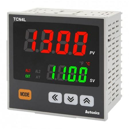 Termoregulator TCN4L-24R disp. 2 reda,4 cifre,2 alarma,relejni,SSR,100-240Vac 50/60Hz,IP65 Autonics