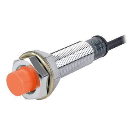 Induktivni senzor PRL12-4DP, M12x55mm,PNP NO,Sn=4mm, kabal l=2m, 3-žični 12-24Vdc, IP67 Autonics