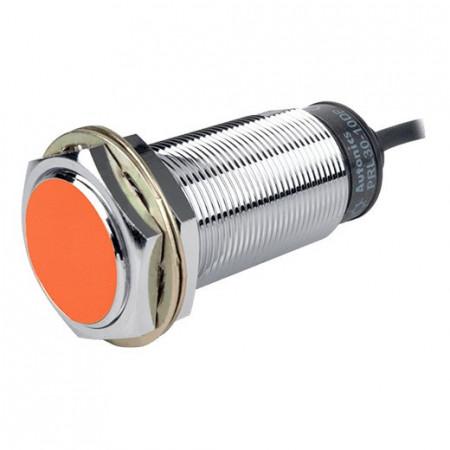 Induktivni senzor PRL30-10DP, M30x80mm, PNP NO, Sn=10mm, kabal l=2m, 3-žični 12-24Vdc, IP67 Autonics