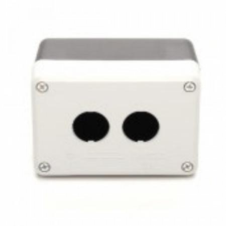 Kontrolna kutija PY2BOS, 2 otvora f22mm, crno-siva IP65 Emas