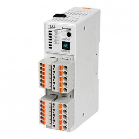 Termoregulator TM4-N2SB, 4 kanala, SSR, RS485, 24Vdc Autonics