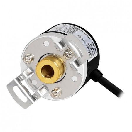 Inkrementalni enkoder E40H12-2000-3-T-24, fi40mm, 2000 impulsa, ABZ, 12-24Vdc IP50 Autonics