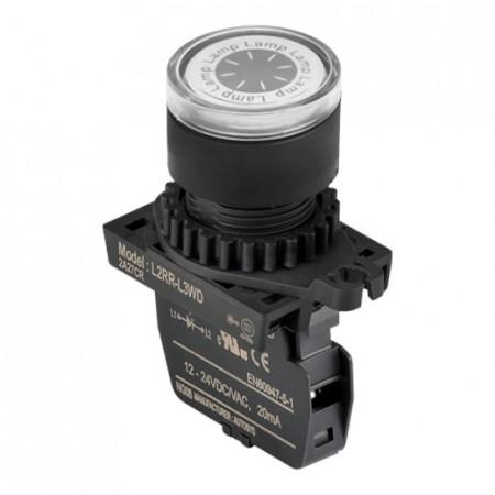 Signalna sijalica L2RR-L3WL bela,110-220Vac IP52 Autonics