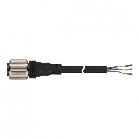Konektorski kabal CID3-5, M12, ženski-ravni, DC 3 pina, 5m Autonics