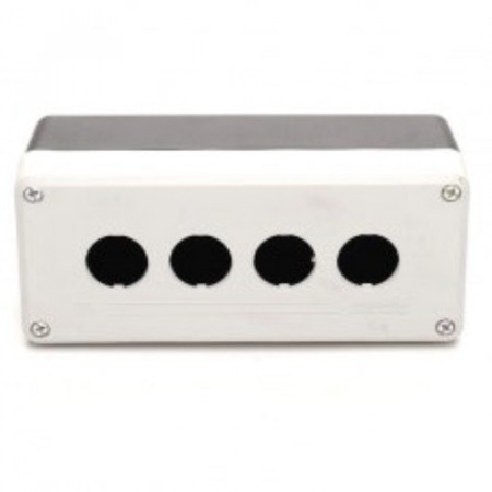 Kontrolna kutija PY4BOS, 4 otvora f22mm, crno-siva IP65 Emas