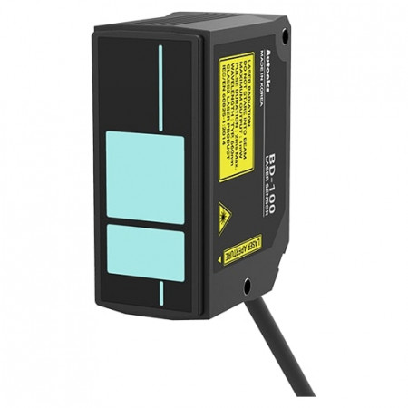 Senzor pomeraja BD-100,linearni,laserski,Sn=100mm(70-130mm),difuse-reflection,konektor,IP67 Autonics