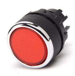 Glava tastera BDDK, ugradnja na fi22mm, crveni IP50 Emas