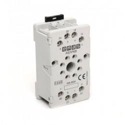 Podnožje RS1P08H1, 8-pina, 10A, 250Vac IP40 Emas