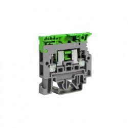 Redna stezaljka - nosač osigurača SF900GR 0.2-6 mm2, tip SFR.4/GR Cabur