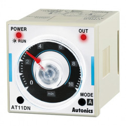 Tajmer AT11DN, disp. analogni, skala,11 pin,izlaz 2 relejna,100-240Vac 50/60Hz, 12-24 Vdc Autonics