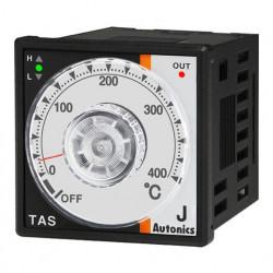 Termoregulator TAS-B4RJ4C,disp.analogni,48x48mm,0-400°C,J sonda,relejni,SSR,100-240Vac IP65 Autonics