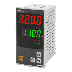 Termoregulator TCN4H-24R disp.2 reda-4 cifre,48x96mm,2 alarma,relejni/SSR,100-240Vac IP65 Autonics