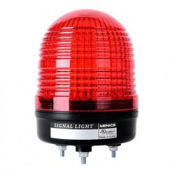 Signalni toranj MS86T-RFF-R, D85mm,3 režima rada, crvena, 90-240Vac IP65 Autonics