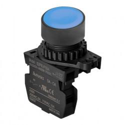 Taster plavi S2PR-P1BAM, 1NO, 6A 250Vac IP52 Autonics