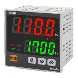 Termoregulator TCN4M-24R,disp.2 reda,4 cifre,2 alarma,relejni,SSR,100-240Vac 50/60Hz, IP65 Autonics