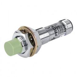 Induktivni senzor PRCM12-4DN, M12, NPN NO, osetljivost na 4mm,12-24Vdc, IP67 Autonics