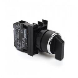 Prekidač dvopoložajni B100S20, 0-1, 1NO, fi22mm 60°, 4A 250Vac IP50 Emas