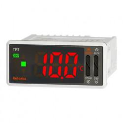 Termoregulator TF31-14A,disp.LED,1 red-3 cifre,77x35mm,NTC/RTD,1 DI,relejni,100-240Vac IP65 Autonics